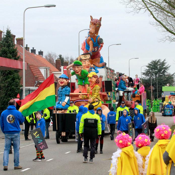Wouwse Plantage : carnavalsoptocht    foto: Pix4profs/Gerard van Offeren