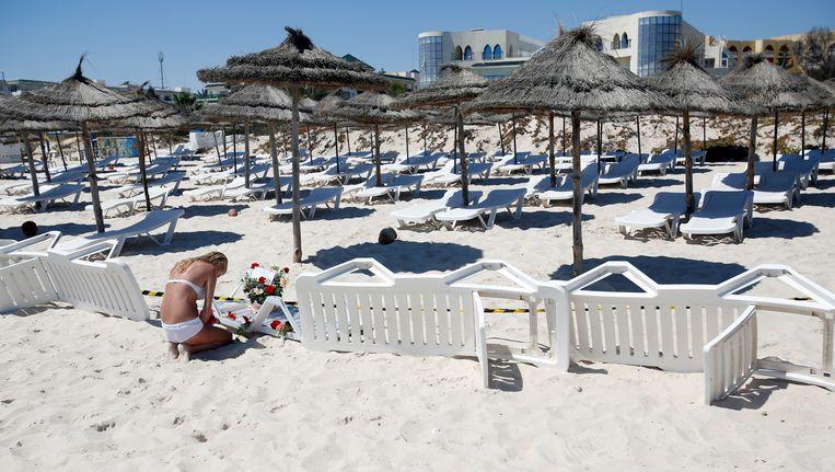 De Tunesische badplaats Sousse waar in juni 2015 een bloedbad werd aangericht.
