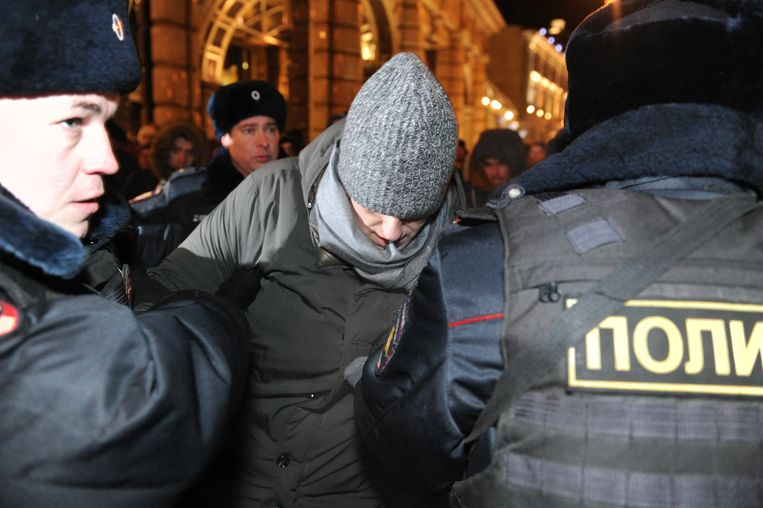 Navalni was woedend.