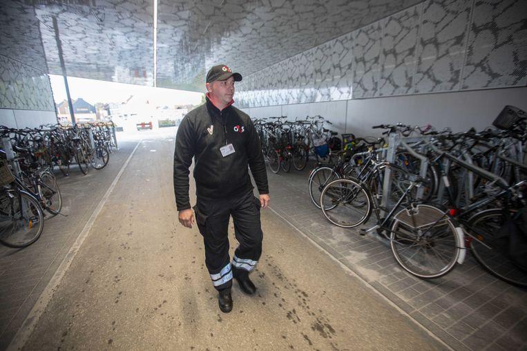 De gemeente liet in het verleden nog bewakingsagenten van G4S patrouilleren in stationsomgeving. Een actie in de strijd tegen de diefstallen van fietsen.