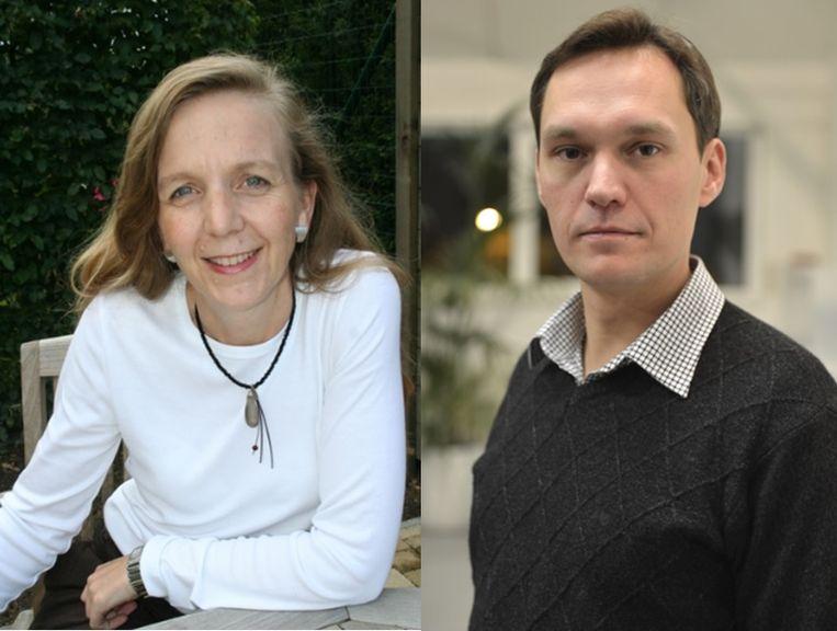 Hilde Bruggeman (Open Vld) en Wim Mommaers (N-VA) blijven op hun honger zitten bij het nieuwe meerjarenbeleidsplan. Buggenhout.