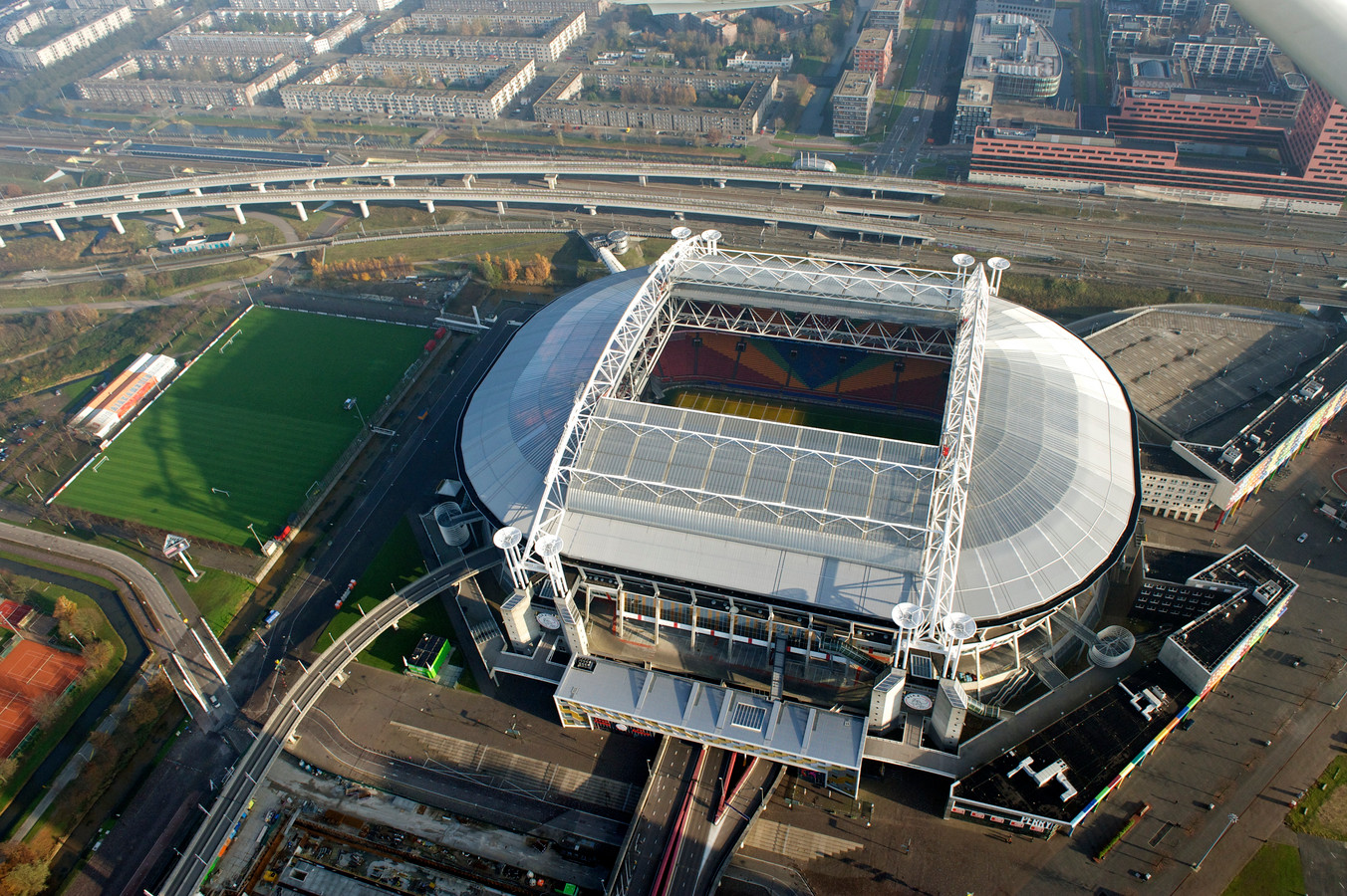 De Johan Cruijff Arena.