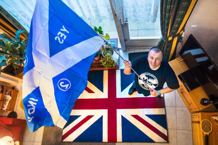 Raimond Dijkstra's activisme voor Schotland begon acht jaar geleden.
