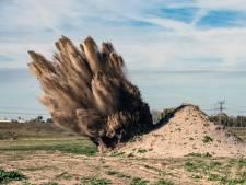 Fosforgranaat gevonden in achtertuin Tiel