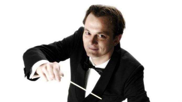Chef-dirigent Sander Teepen.