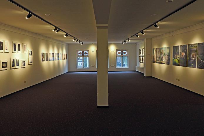 De expositieruimte van Foto21 Bredevoort.