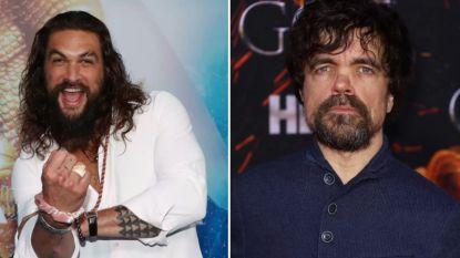 'Game Of Thrones'-collega's Jason Momoa en Peter Dinklage samen in horrorfilm