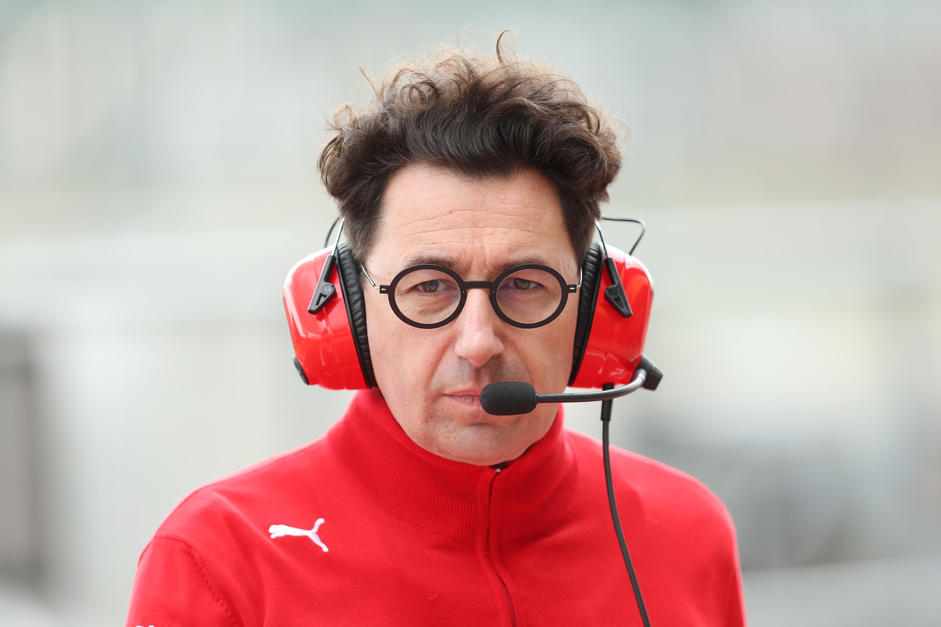 File photo dated 12-07-2019 of Ferrari Team Principle Mattia Binotto.