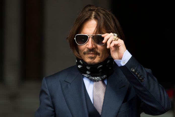 Johnny Depp kroop in de huid van Edward Scissorhands.