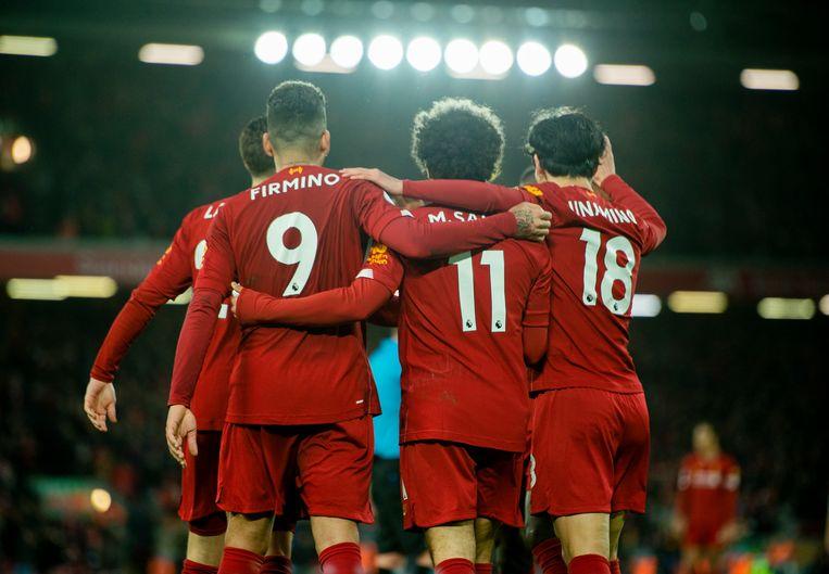 Liverpool liet dit seizoen nog maar één keer punten liggen in de competitie.