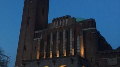 Kristus-Koningkerk nu ook 's nachts zichtbaar