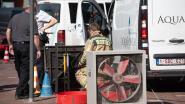 Video. Marktplein afgesloten nadat arbeider bevangen raakt door chloordampen
