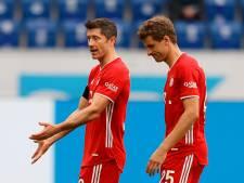 Le Bayern chute à Hoffenheim après dix mois d'invincibilité