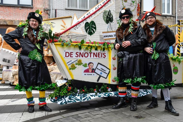 Stoet  Carnaval 2020 Aalst