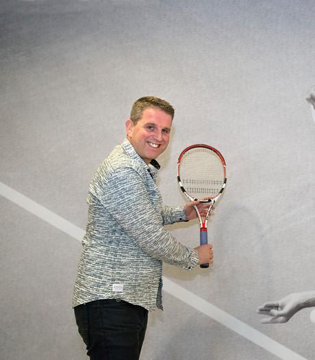 Ossenaar promoot Curaçao en ook het tennis daar