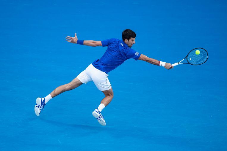 Djokovic bereikt staat van perfectie in finale Australian Open