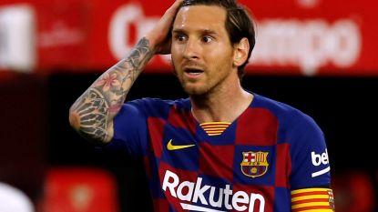Geen goals in flauwe topper tussen Barcelona en Sevilla, Real kan zondag op gelijke hoogte komen
