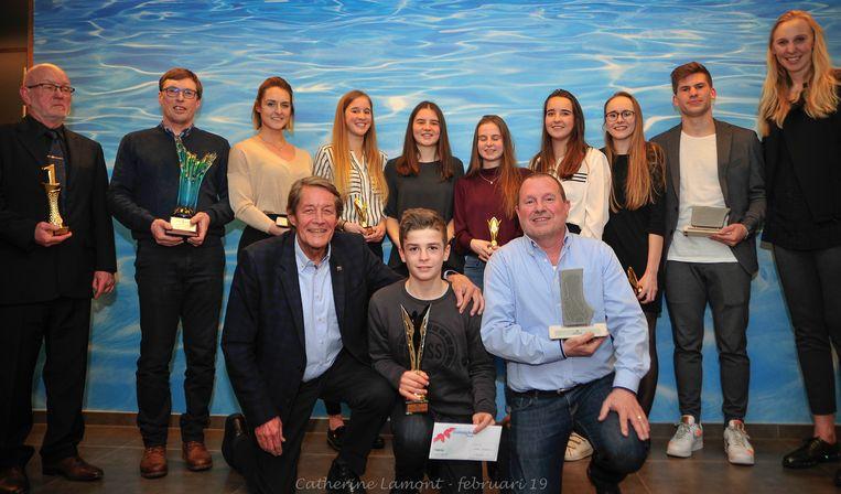 De sportlaureaten van Deinze.