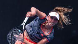 """Elise Mertens plaatst zich voor tweede ronde Australian Open: """"Ik moest opnieuw in mijn bubbel"""""""