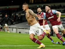 Trois buts en dix minutes: l'incroyable remontada de West Ham face à Tottenham