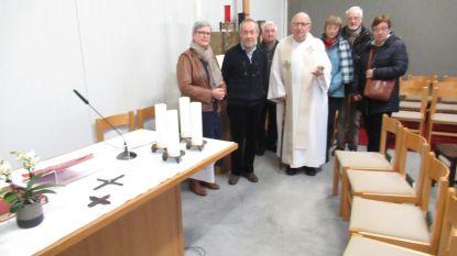 Parochiezaal wordt even 'kerk'