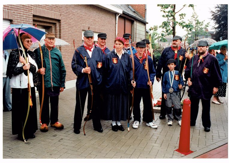 DeSint Sebastiaan Gilde bij hun viering van hu 825ste verjaardag in 199!