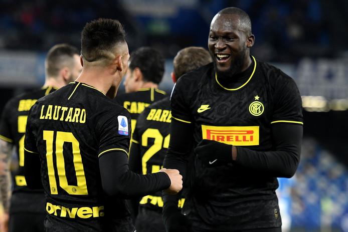 Auteur d'un doublé contre Naples, Lukaku porte son total à 14 buts en championnat cette saison.