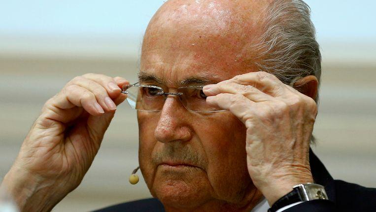 Sepp Blatter Beeld REUTERS