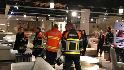 Alarm voorkomt zware brand bij meubelwinkel Weyne