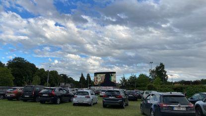 Groenvlakte naast Jan Breydelstadion is nu drive-incinema: Kinepolis speelt er drie films per dag
