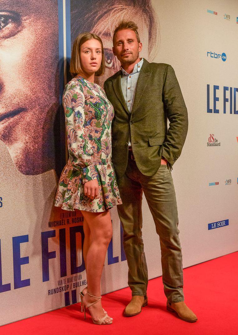 Adele Exarchopoulos en Matthias Schoenaerts.