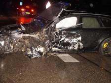 Gewonde bij zwaar ongeluk op N267 bij Oud-Heusden