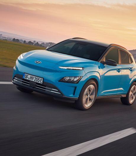 Hyundai frist leaselieveling op: nieuwe neus en hulpsystemen voor Kona Electric