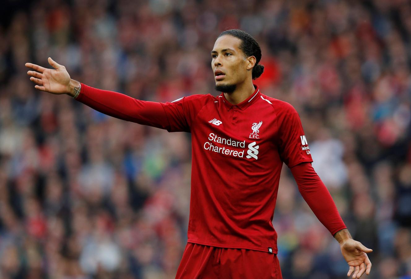 Virgil van Dijk was dit seizoen in 44 duels voor Liverpool al goed voor vijf goals, vier assists en vier gele kaarten.