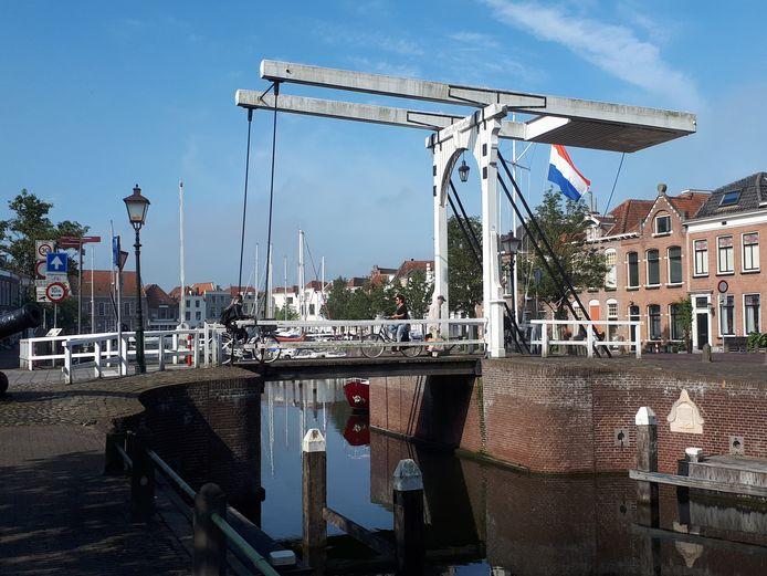 De Sint-Maartensbrug in Goes.