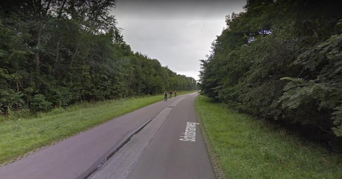 In de oude situatie (foto) was het veel onveiliger voor fietsers op de Schotsmanweg. Nu zij een vrijliggend fietspad hebben zijn er echter snelheidsremmers nodig voor het snelverkeer.