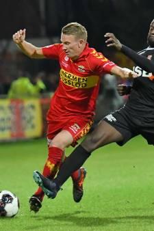 GA Eagles vaak met knikkende knieën naar Volendam