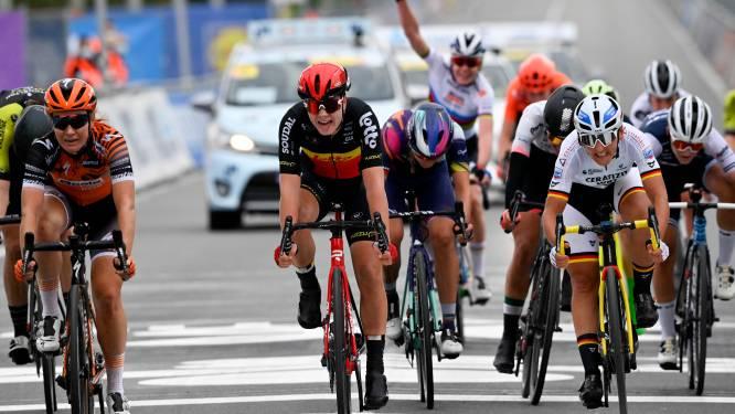 """Lotte Kopecky derde in Ronde van Vlaanderen: """"Ik kwam om te winnen, maar kende geen superdag"""""""