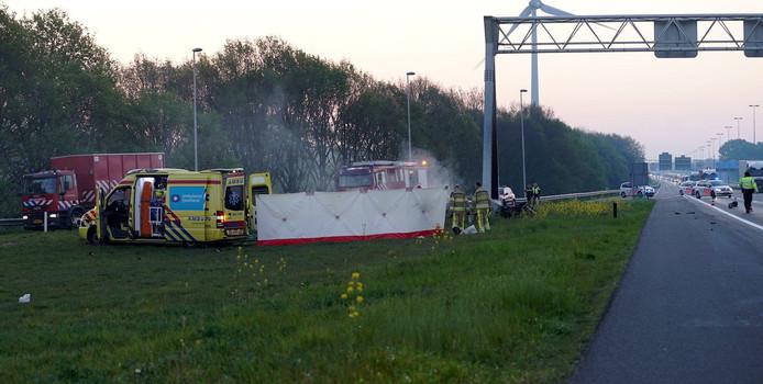 Bij het ongeval kwamen vier mensen om het leven.