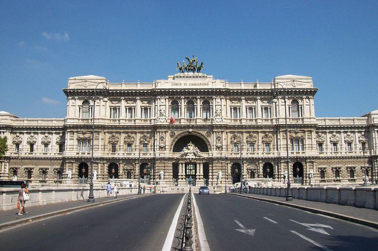 Het Hof van Cassatie in Rome.
