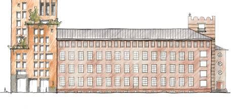 In oude Bredase postkantoor komen 110 tot 120 appartementen