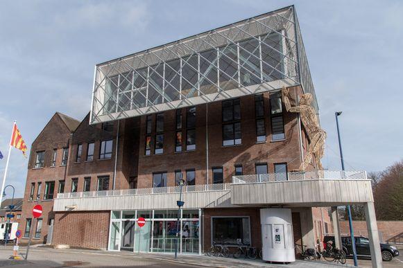 Het gemeentehuis van Kontich.