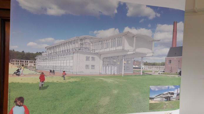 Een impressie van de nieuwe Oranje Nassauschool.