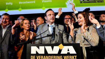 De Wever is grootste stemmenkanon in Antwerpen, voor Dewinter en Van Besien
