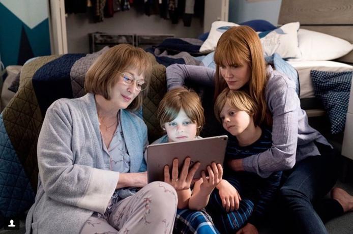 """Meryl Streep et Nicole Kidman dans """"Big Little Lies""""."""