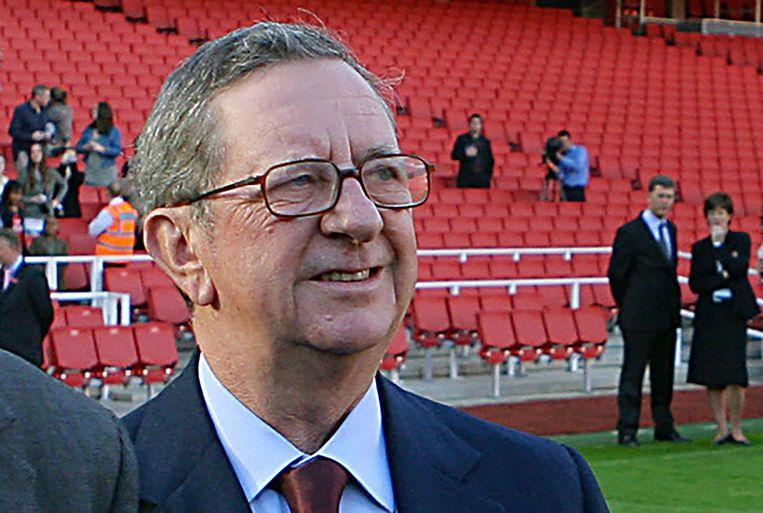 Peter Hill-Wood, ex-voorzitter van Arsenal.