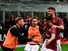 Milan houdt Champions League-hoop levend met zege op degradant