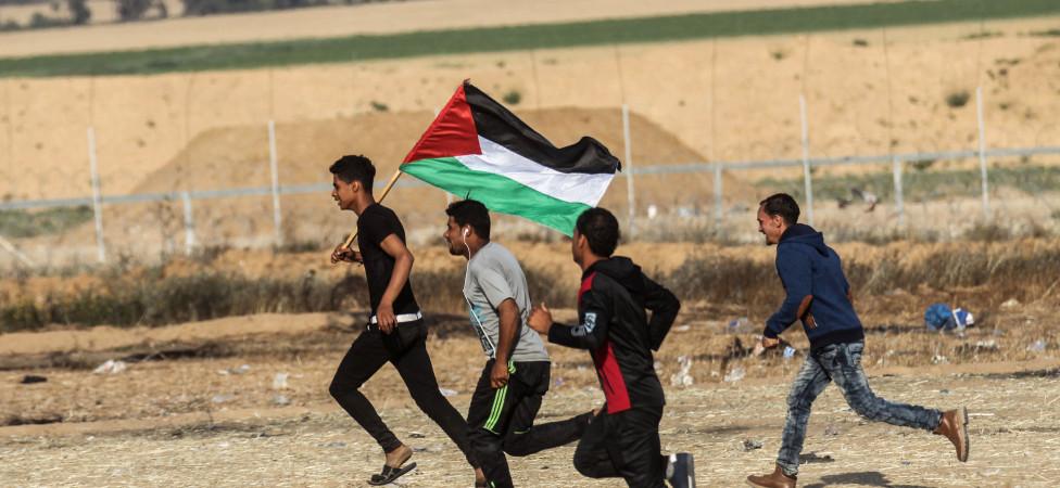 Er voltrekt zich een drama aan de grens met Israël
