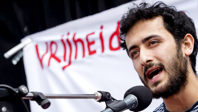 Activist Abulkasim Al-Jaberi.