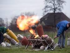 Met maximaal vier personen carbid afschieten in Achterhoek: 'Zorgen over schieten in stedelijk gebied'